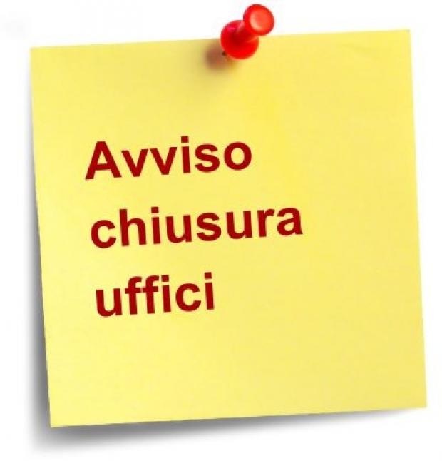 CHIUSURA UFFICI 27 OTTOBRE 2018