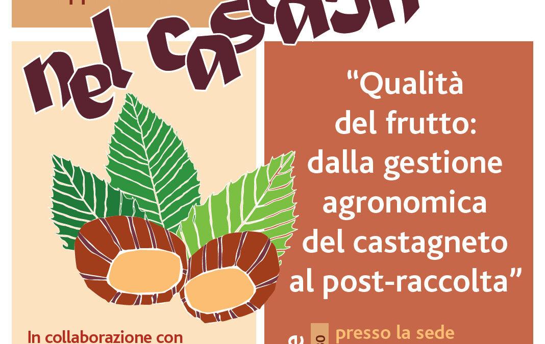 INCONTRO CASTAGNICOLTURA